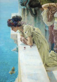 Sir Lawrence Alma-Tadema, A Coign of Vantage, 1895, Collection of Ann and Gordon Getty