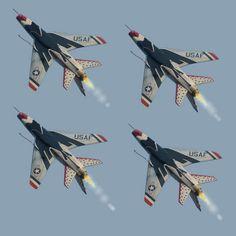Thunderbirds F-100 Super Sabre