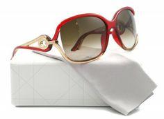 Óculos Christian Dior Women's Volute 2S Sunglasses Red Honey #Dior#Óculos