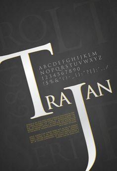 Carol Twombly - Trajan - serif schrift
