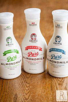 Califia Farms Pure Almondmilk. I've tried many different brands and they all have unique flavors and thicknesses. This brand is, by far, the most delicious!