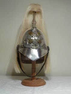Fife Light Horse helmet @Scottish Military Research Group