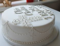 holy communion cake by Jill The Cakemaker, via Flickr