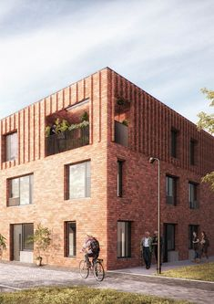 Mecanoo Architects - Leaf Street Housing, Manchester, United Kingdom
