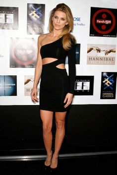 AnnaLynne McCord in Donna Mizani (Available at The Trend Boutique