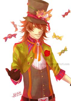 The mad hatter anime | mad Hatter by * shilkefair