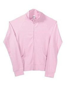 385322fa592 Bella Ladies Stretch Cadet Full Zip Fleece Jacket - Pink - Medium Bella.   18.85