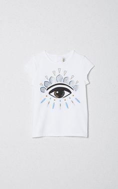 Eyes girl Tshirt, KENZO