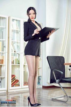 Mature older women office
