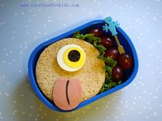 Cute Food For Kids?: There Is A Monster In My Lunch Box!