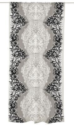 Mandariini valmisverho Marimekko, Textiles, Curtains, Design, Home Decor, Lilac, Blinds, Decoration Home, Room Decor