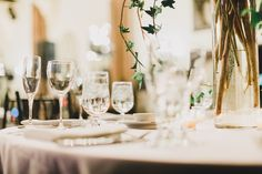Carla Boecklin Photography | #AldenCastle #LongwoodVenues #Boston #Wedding #Ceremony #Centerpiece #Flowers  #TableDecor #WeddingDecor #Stemware #Ivy #Bride #Groom #Photography http://www.carlaboecklin.com/ http://www.longwoodevents.com