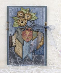 """Birthday Card ~ Husband"" ScrapThat! April ""Within Nature"" Kit by Tracey Sabella"