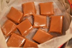Homemade caramels, great gift