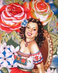 Mexicana con Flores