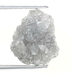 Top Diamond Natural Rough 3.30 Ct Silver Gray Color Sell For Low Price