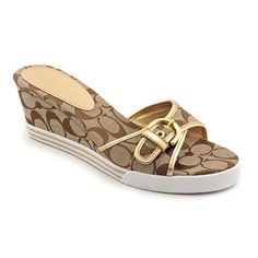 27bace2d8660 Coach Women s  Perry  Basic Textile Sandals (Size 10 ) - Overstock™ Shopping