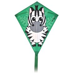 Diamond Zebra Kite is the perfect gift for Kids age 7 who love being outside. Great to take to the park too!