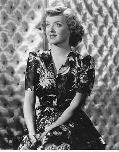 """Bette Davis as high maintenance mantrap:  """"In This Our Life"""" (1942)"""
