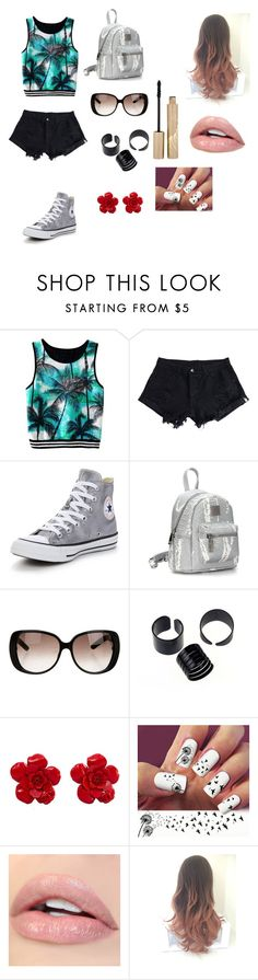 """""""Idk"""" by ktbspa-and-loveislove on Polyvore featuring moda, WithChic, Converse, Gucci, Chanel y Stila"""
