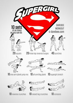 Supergirl Workout