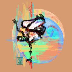 Encres : Capoeira – 543 [ #capoeira #digital #illustration]