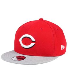 New Era Boys' Cincinnati Reds Heather Vize 9FIFTY Snapback Cap