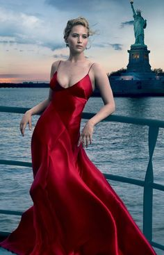 Jennifer Lawrence on the cover of September 2017 Vouge