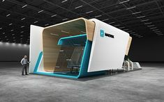 The exhibition is in 2018 (MAERSK – Behance – Дом МЕЧТА – Exhibition Stand Exhibition Stall, Exhibition Booth Design, Exhibit Design, Standing Signage, Cladding Design, Casas Containers, Counter Design, Cube Design, Machine Design