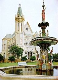 Frere Hall #history #antique #church #old #tourism