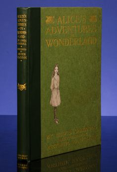 A virtually As New copy of Arthur Rackham's 1907 Deluxe American Limited Edition Alice's Adventures In Wonderland. #LakinCollection