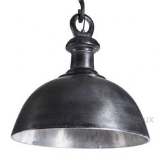 PTMD black industrial lamp bowl s (648117) - PTMD - Stoer & Industrieel