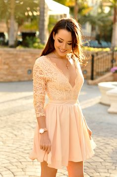 navy dress_spring outfit_white embroidery_roses