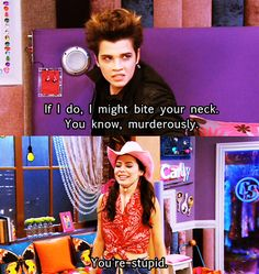 Icarly is hilarious sometimes...