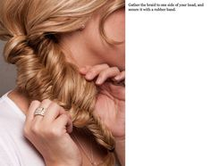 Anyone that knows me knows that I am obsessed with braiding hair. I will be trying this for sure!