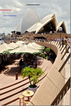 Visiting the Sydney Opera house at the Sydney Harbour should be the number first item on your list of 'things to do in Sydney'. What an incredible building! Click the image to read our post about the Top 3 Sydney Landmarks. Sydney Tourist Attractions, Sydney Australia Travel, Victoria Australia, South Australia, The Rocks Sydney, Melbourne, Airlie Beach, Picnic Area, Sydney Harbour Bridge