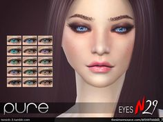 Sims 4 CC's - The Best: Eyes by TsminhSims