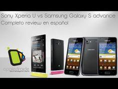 Xperia U VS Galaxy S Advance especial de appledroide