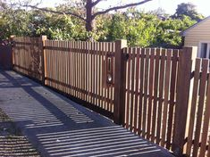 modern picket fence - Google Search