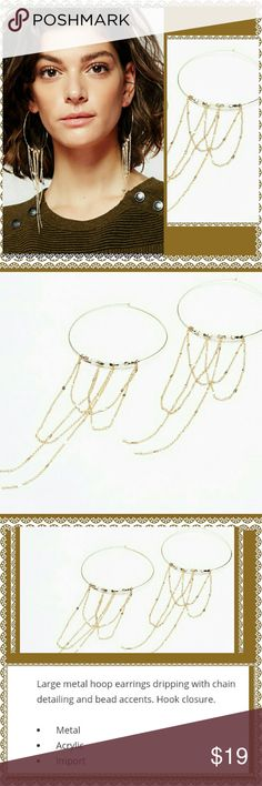 BE THE SHOW THREADER HOOP OPAL EARRINGS Glitter Just Enough to be Heard With Your Day Night or all Times zinc between from the Serious Business LUNCHEON OR THE NIGHT ON THE Town,  Ready Wear Dazzle Jewelry Earrings