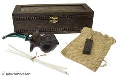 "TobaccoPipes.com - Owl Pipes ""Kraken's Sea"" Tobacco Pipe Gift Set, $152.00 (http://www.tobaccopipes.com/owl-pipes-krakens-sea-tobacco-pipe-gift-set/)"