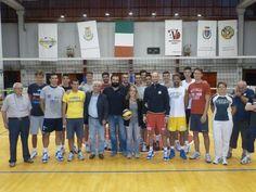 La squadra con il Sindaco e la Presidente Elena Belletti