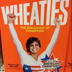 MaryLou Retton- more HS years- she was from my hometown so when she won gold- it was HUGE.