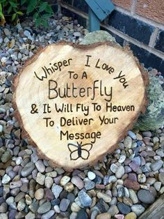 """""""Whisper I Love you To A Butterfly & It Will Fly To Heaven."""" I love you, I always think of you baby. I Miss You, I Love You, Just For You, My Love, Garden Quotes, Laura Lee, In Loving Memory, First Love, Messages"""