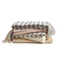 Slate Striped Rayon from Bamboo Throw - Overstock™ Shopping - Great Deals on Throws