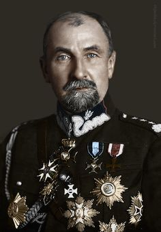 Tadeusz Jordan-Rozwadowski (1866-1928), Polish military commander, diplomat, and politician, a general of the Austro-Hungarian Army and then the Polish Army.