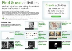 Create Your Own Interactive Primary Source Document Activities