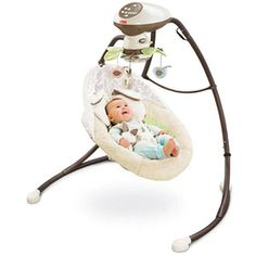 Fisher-Price - My Little Snugabunny Cradle 'n Swing