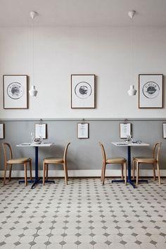 Great interior of Finlandia Caviar in Helsinki