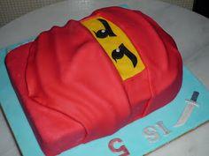 GG Home Biz Cakes & Wedding Cakes: Ninja Go Kai Birthday Cake ordered by Puan Norzalina of Wangsa Maju